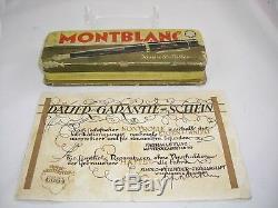 1939' MONTBLANC 139 Meisterstück FLEX F GOLD NIB VERY RARE VINTAGE PEN ORIGINAL