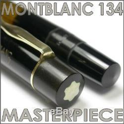 1939 Montblanc 134 Masterpiece Celluloid Flex Nib Vintage Fountain Pen Fp Stylo