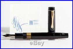 1947 MONTBLANC Masterpiece 136 Celluloid Fountain Pen, OB 14C gold nib