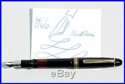 1949 made MONTBLANC Masterpiece 146 G Celluloid Fountain Pen, Fine 14C gold nib