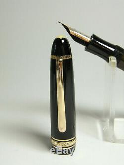 1950's MONTBLANC 146 MEISTERSTÜCK fountain pen 14ct flexy OM nib GOOD condition