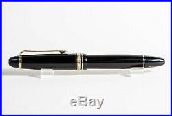 1959 MONTBLANC Masterpiece 146 Celluloid Fountain Pen, OBB 14C gold nib
