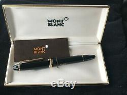 1980's MONTBLANC 146 Fountain Pen LeGrand / GOLD Nib in 14 K 585 B Marlene