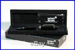 1989 W. GERMANY MONTBLANC 149 Masterpiece Fountain Pen M 18c gold nib PISTON FILL