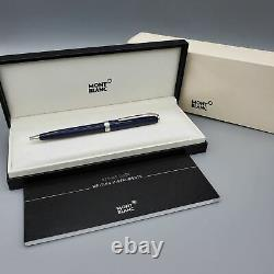 AUTHENTIC Montblanc Midnight Blue Pix Ballpoint Pen MB#114810