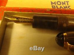 Antique Tiger's Eye Montblanc Pen 22 Circa 1950 Wiese Spain Production