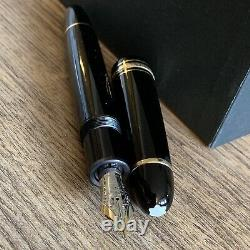Authentic MONTBLANC MEISTERSTUCK Model 149 14K Gold 4810 Fountain Pen Vintage