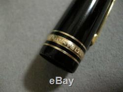 Authentic MONTBLANC MEISTERSTUCK Model 149 18K Gold 4810 Fountain Pen Vintage