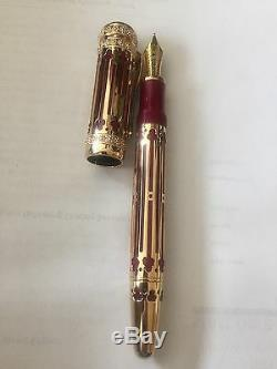 Brand New Montblanc Fp Catherine The Great 4810 Patron Of Art Mont Blanc