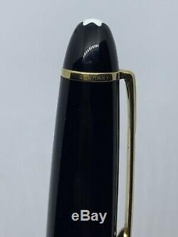 Excellent Montblanc Meisterstuck 149 Fountain Pen The Big 14 K Ef Gold Nib