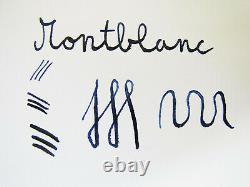 Excellent Vintage MONTBLANC 242G Pistonfiller Fountain Pen Flexy 14ct OM Nib