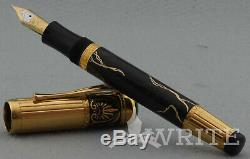 Fountain Pen Montblanc Limited Edition Alexander The Great 2710/4810 M Complete