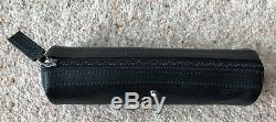 Genuine Mont Blanc Meisterstuck UNICEF Black Leather One Pen Pouch with Zip