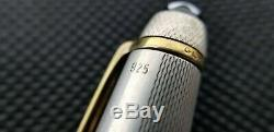 Guaranteed Genuine Montblanc 4810 18k Gold & 925 Sterling Silver Fountain Pen