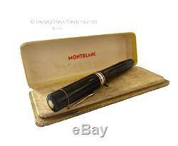 ICONIC MONTBLANC MEISTERSTUCK N 139 Gold Nib Fountain pen 1940