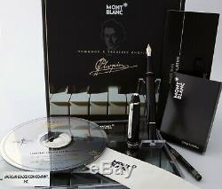 MONTBLANC #145 CHOPIN with14K Nib Special Edition Platinum Line New in Box