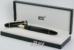 MONTBLANC 149 Calligraphy flexible Feder Füllfederhalter pen flex nib 119699