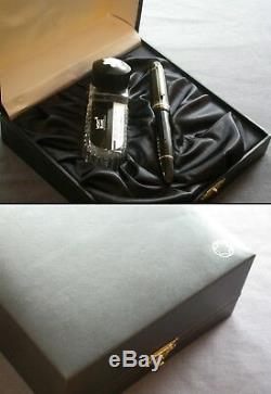MONTBLANC 149 / HUGE GIFT BOX / 18K 750 F nib / GERMANY / EXCELLENT / MONT BLANC