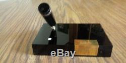 MONTBLANC 149-SIZED FOUNTAIN PEN DESK SET HOLDER and Inkwell