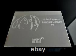 MONTBLANC 2010 Great Characters John Lennon Artisan Limited Edition 70 Skeleton