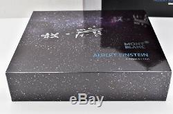 MONTBLANC 2012 Great Characters Albert Einstein Limited Edition 2439/3000 FP M
