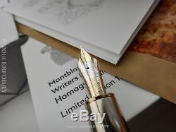 MONTBLANC 2018 Homage to Iliad (Homer) Writers Limited Edition 1581 Fountain Pen