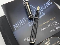 MONTBLANC Anniversary 1906 2006 100 Years Safety Fountain Pen 01637/15000 M