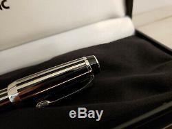 MONTBLANC Boheme Crystal Platinum Plated Rollerball Pen, MINT