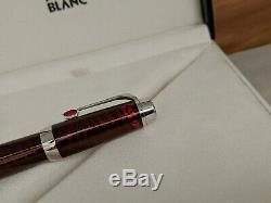 MONTBLANC Boheme Paso Doble Rouge Platinum Trim Rollerball Pen, NOS