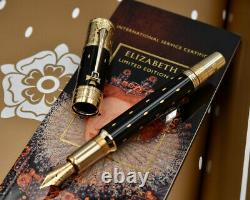 MONTBLANC Elizabeth I 2010 Patron of Art Limited Edition Fountain Pen 4810 M