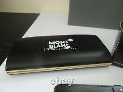 MONTBLANC FOUNTAIN PEN 149 14k NIB #4810 INK Bottle and carry pouch