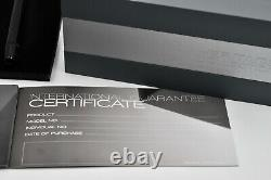 MONTBLANC Heritage Collection 1912 Fountain Pen 14k Retractable F Nib Ref 109048