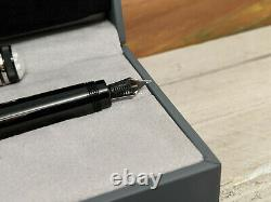 MONTBLANC Heritage Collection 1912 Fountain Pen F 18K Nib, MINT