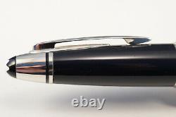 MONTBLANC John F. Kennedy Fountain pen Navy Blue Resin 14 K M Nib Mint