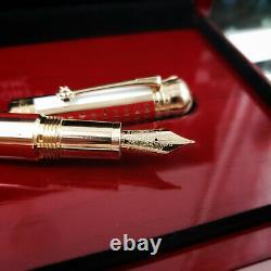 MONTBLANC Joseph II Fountain Pen Patron of Art 18k Medium Nib NOS