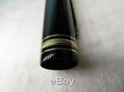 MONTBLANC MEISTERSTÜCK 149 Fountain Pen 14c nib F 1970s (Ym 001)