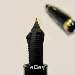 MONTBLANC MEISTERSTÜCK 149 Fountain Pen 14k Nib EF 1980s (y0906 s)