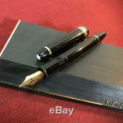 MONTBLANC MEISTERSTÜCK LE GRAND 146 14k Fountain pen writing is Excellent