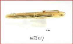 MONTBLANC MEISTERSTUCK N. 149/ 18K GOLD FOUNTAIN PEN 1950s