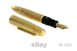 MONTBLANC MEISTERSTUCK N. 149/ 18K SOLID 750 GOLD FOUNTAIN PEN/GOLD STAR 1950s