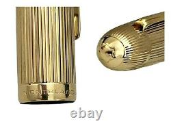 MONTBLANC MEISTERSTUCK N. 149 18K SOLID 750 GOLD FOUNTAIN PEN GOLD STAR 1970 s