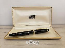 MONTBLANC Meisterstück 14K Gold Nib 146 Fountain Pen, EXCELLENT
