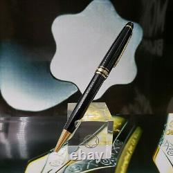 MONTBLANC Meisterstuck 164 Black Gold Cassic/Classique Ballpoint Pen 10883 NOS