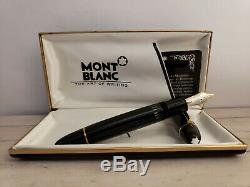 MONTBLANC Meisterstück 18K Gold Nib 149 Fountain Pen, EXCELLENT
