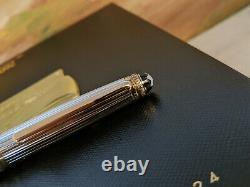 MONTBLANC Meisterstuck 75th Anniversary Limited Edition Sterling Fountain Pen