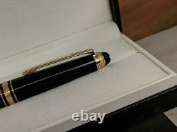 MONTBLANC Meisterstuck 75th Anniversary M 14K Nib 145 Fountain Pen, MINT