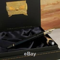 MONTBLANC Meisterstuck 75th Anniversary M 18K Nib 149 Fountain Pen, NOS