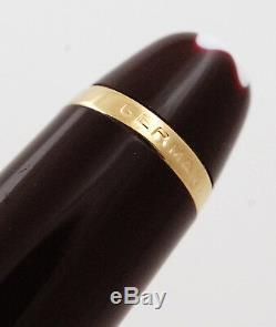MONTBLANC Meisterstück Classique 144 Patronenfüller Bordeaux fountain pen