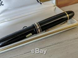 MONTBLANC Meisterstuck Fine 18K Gold Nib No 149 Fountain Pen, NOS