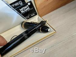 MONTBLANC Meisterstuck Fine 18K Gold Nib No. 149 Fountain Pen W-Germany, NOS